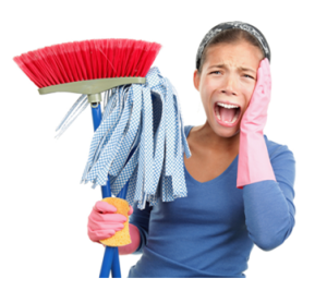 5 snabba städa hemma tips